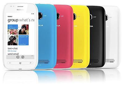 Nokia Lumia 710 Ominaisuudet