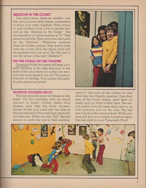 """Garage Sale Finds: 1975 Dynamite """"Monster Bash"""" pg 5 (OKC Craigslist Garage Sales)"""