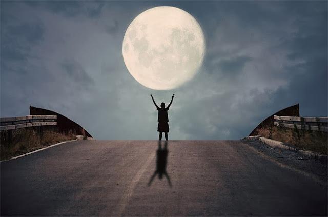Jugando con la luna 13