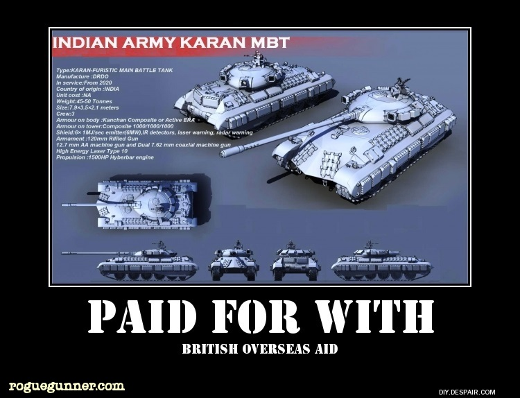 Indian army koran main battle tank