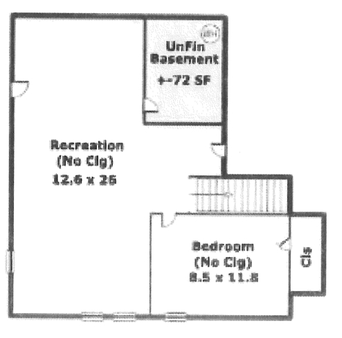 The shields family june 2013 for Basement floor plans with stairs in middle
