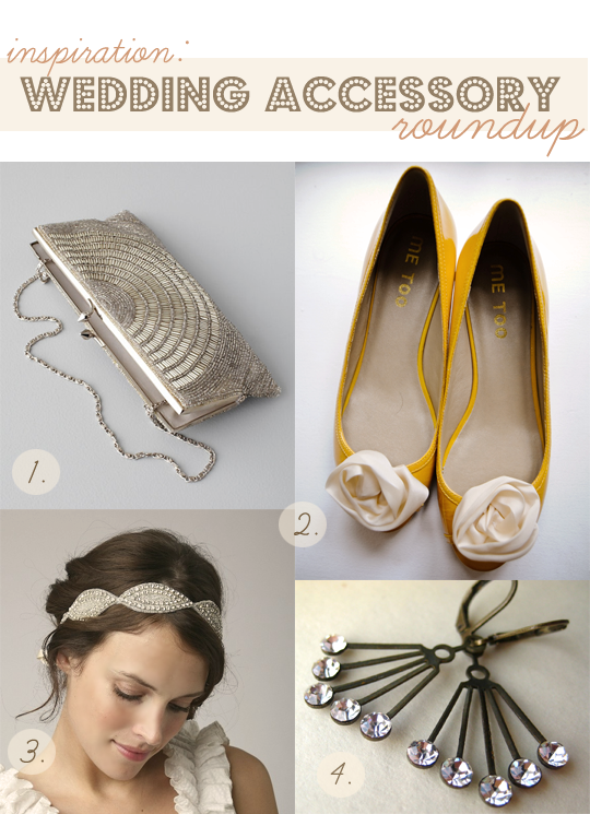 wedding accessory roundup