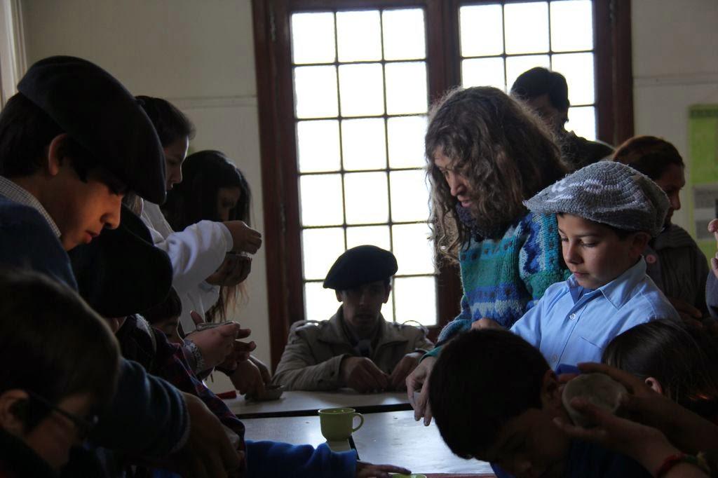 taller de cerámica precolombina en escuelas rurales