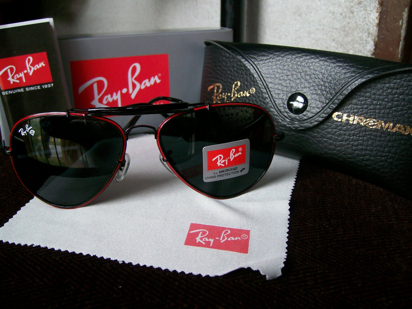 ray ban 100 uv protection by luxottica