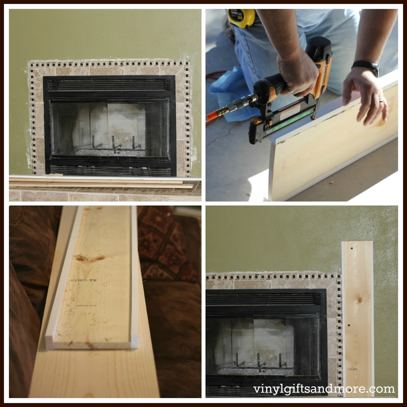 Super Saturday Crafts: Fireplace Remodel