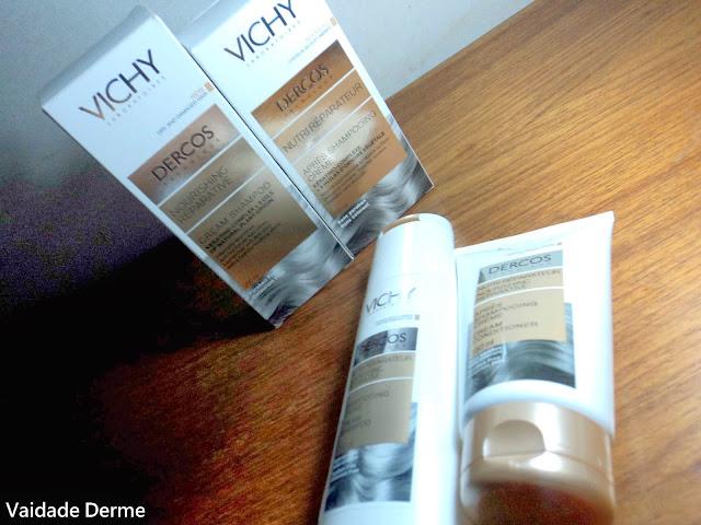 Dercos Shampoo e Condicionador Nutri Reparador Creme da Vichy