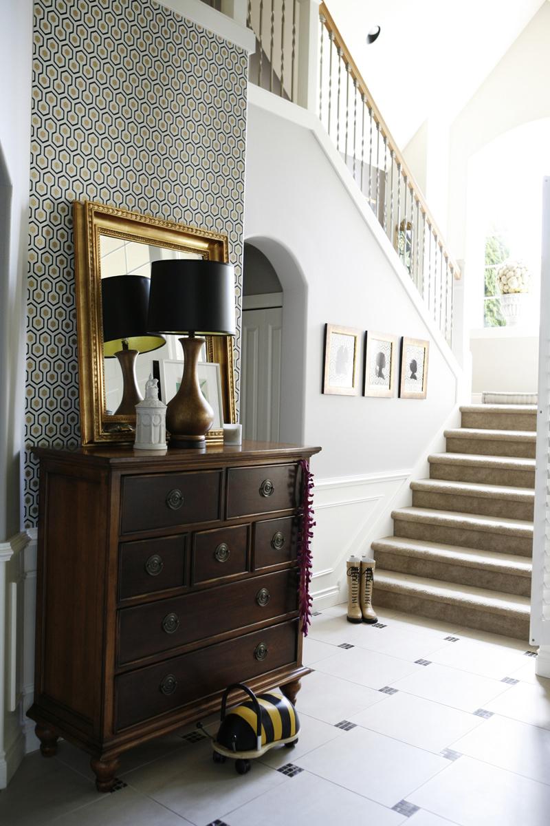 Foyer Wallpaper Nz : Pmosq decorar con espejos de gran formato