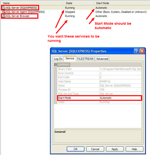 how to find sql configuration manager sql express