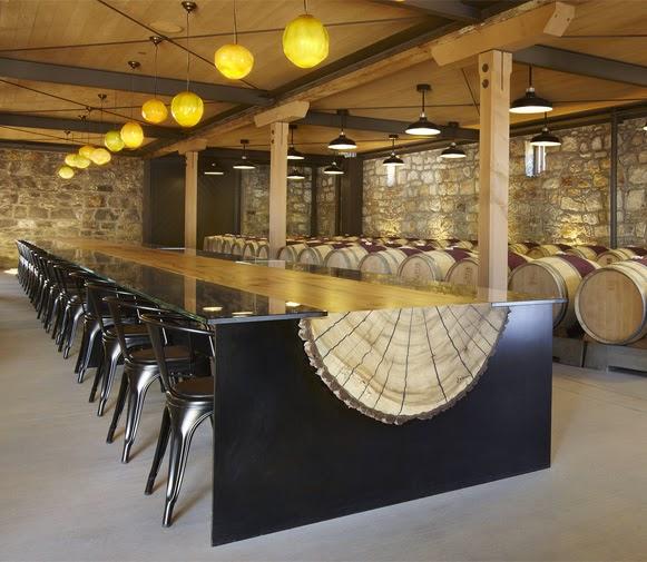 Mesa de tronco bem legaus for Mesas de troncos de arboles