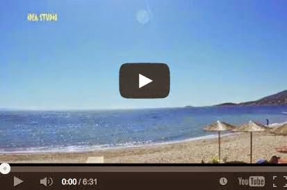 Γαλήνη στην παραλία της Βραυρώνας