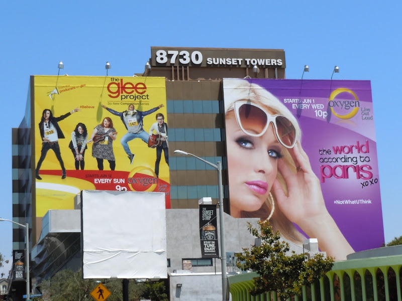 Glee Project season 1 Paris Hilton billboards