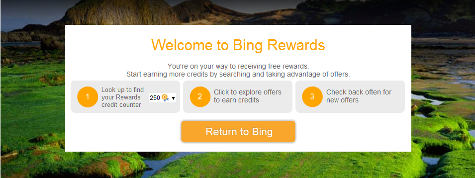 Bing rewards finding travel shopping and other deals with bing for