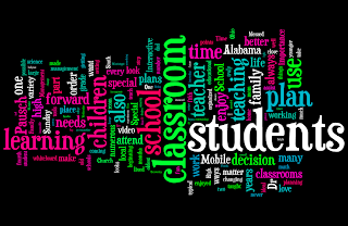 Wordle is a neat program that allows one to paste text into their program and it uses the text provided to create a work of art that really looks like a collage of words. I used the text from my first blog post to create a wordle. This wordle has words that I used to introduce myself; as well as, talk about my ideal futre classroom.