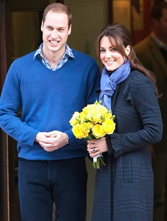 Catherine Middleton and Prince William announced their having a baby