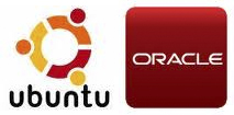 Logo Ubuntu y Oracle