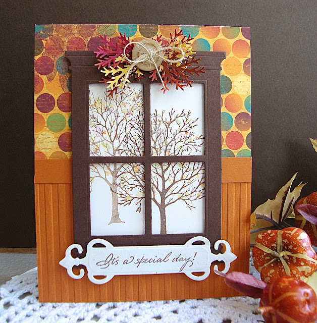 Serendipity Stamps Bare Tree Madison Grand Window Die