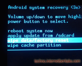 Reset Factory Handphone/Tablet Android