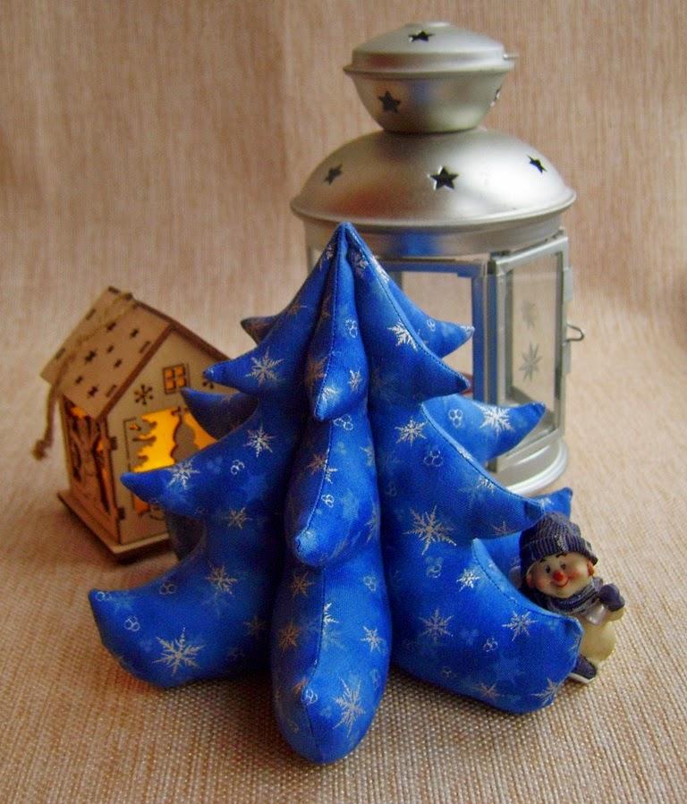 Елочка-тильда к новому году - секреты пошива