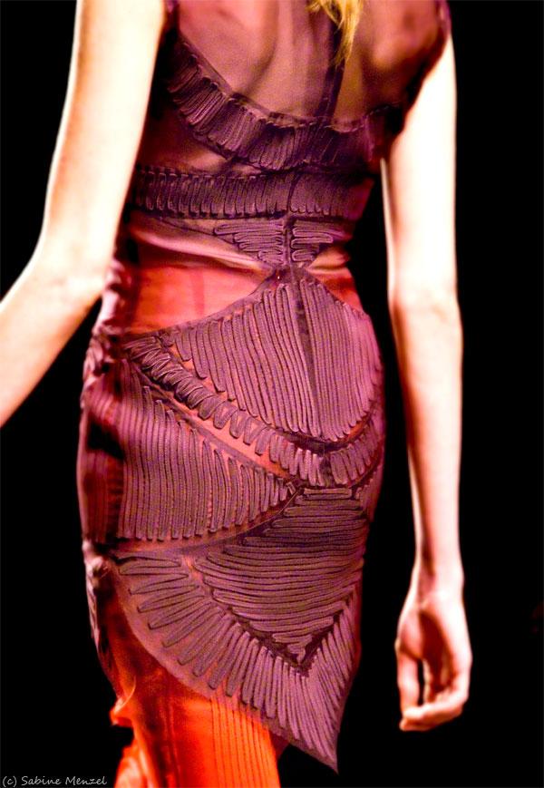Psynopsis LFW Emilio de la Morena Dress AW11