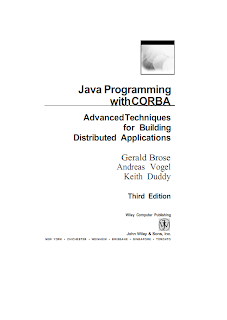 Java Programming with corba by Gerald Brose,andreas vogel,keith dubby Mediafire ebook{ilovemediafire.blogspot.com}