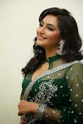 Ragini Dwivedi Glamorous photos in Green Saree-thumbnail-14