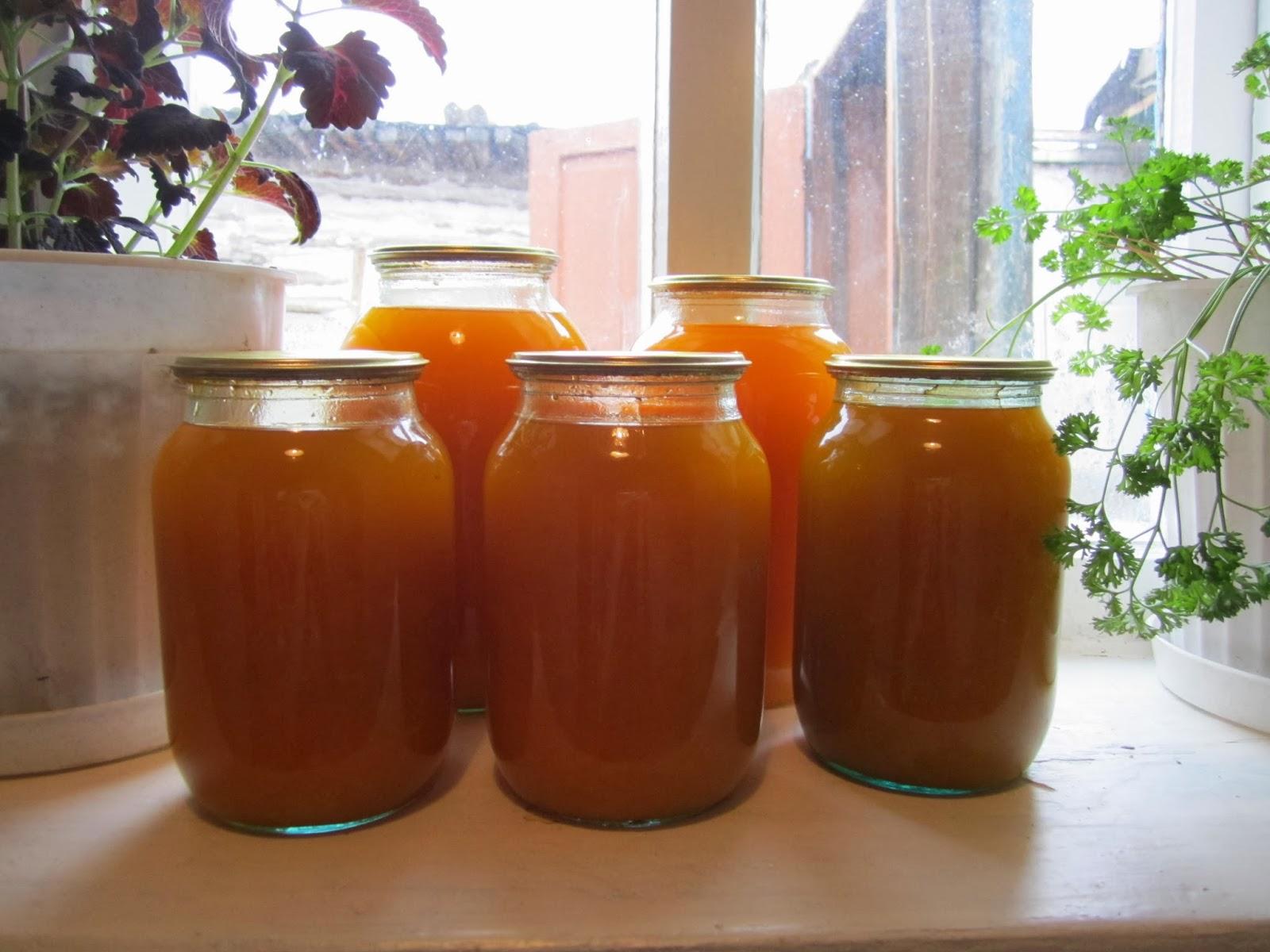 Сок из тыквы с лимоном в домашних