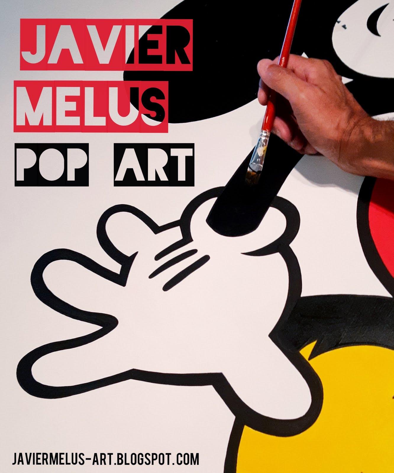 JAVIER MELUS POP ART