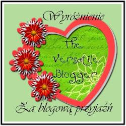 Wyróżnienie za blogową przyjaźń