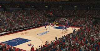 NBA 2K13 Los Angeles Clippers Court Floor Update