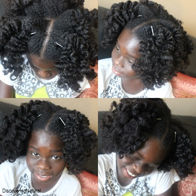 Discoveringnatural Big Sis Styles Bantu Knot Out On Natural Hair