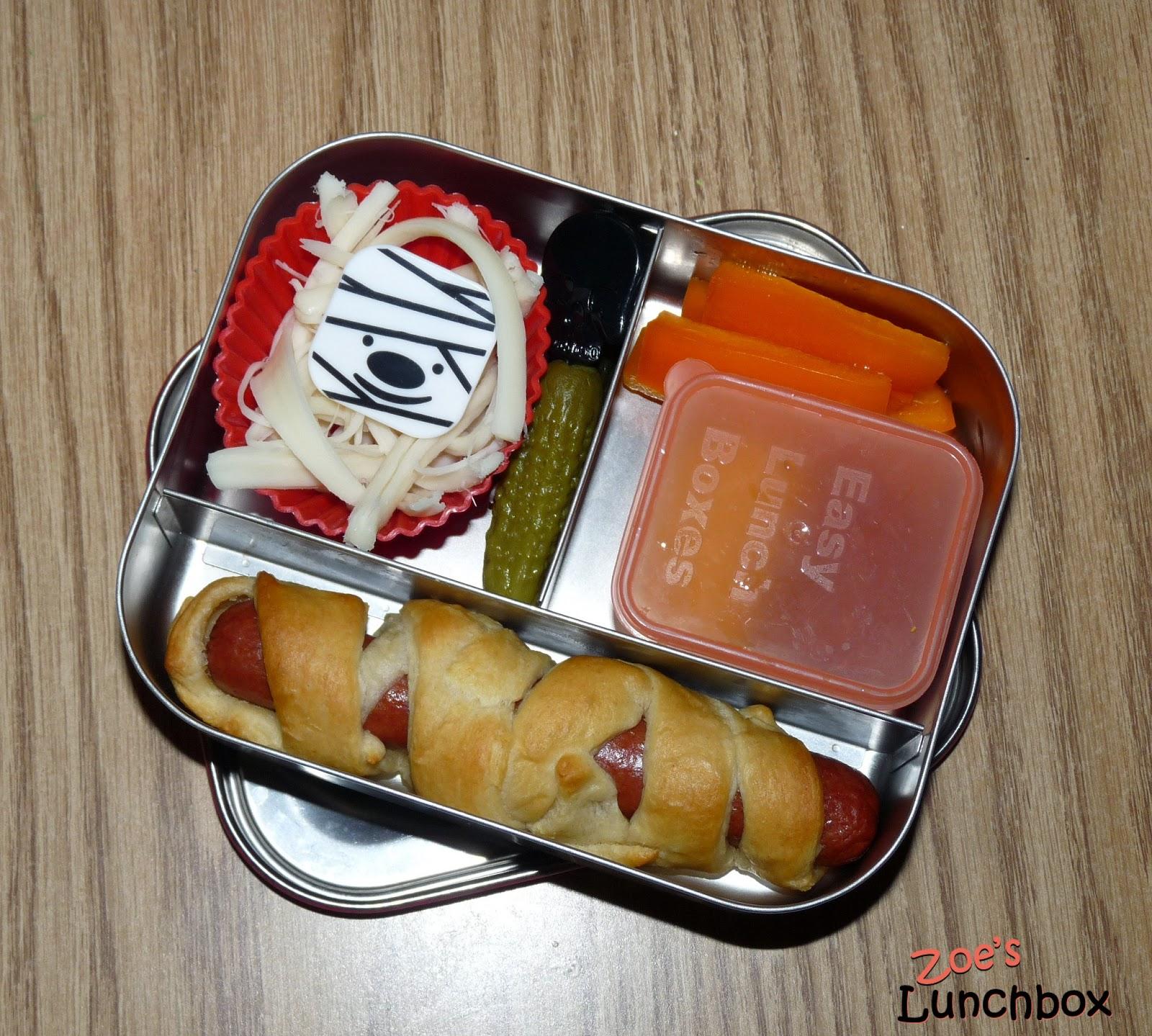 Lunchbots Halloween bento