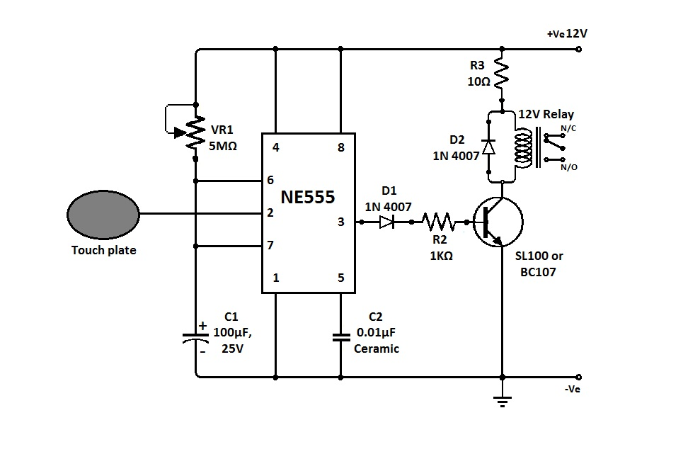 simple hobby electronic circuits electronic circuit projects this in turn switches on the load attached the relay contacts but only for the time until c1 gets fully discharged simple triac dimmer circuit