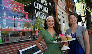 food fight: miss mamie's wins $10,000 on food network's 'cupcake wars'