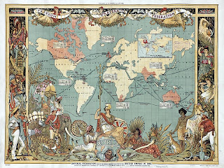 Victorian-Map-British-Empire