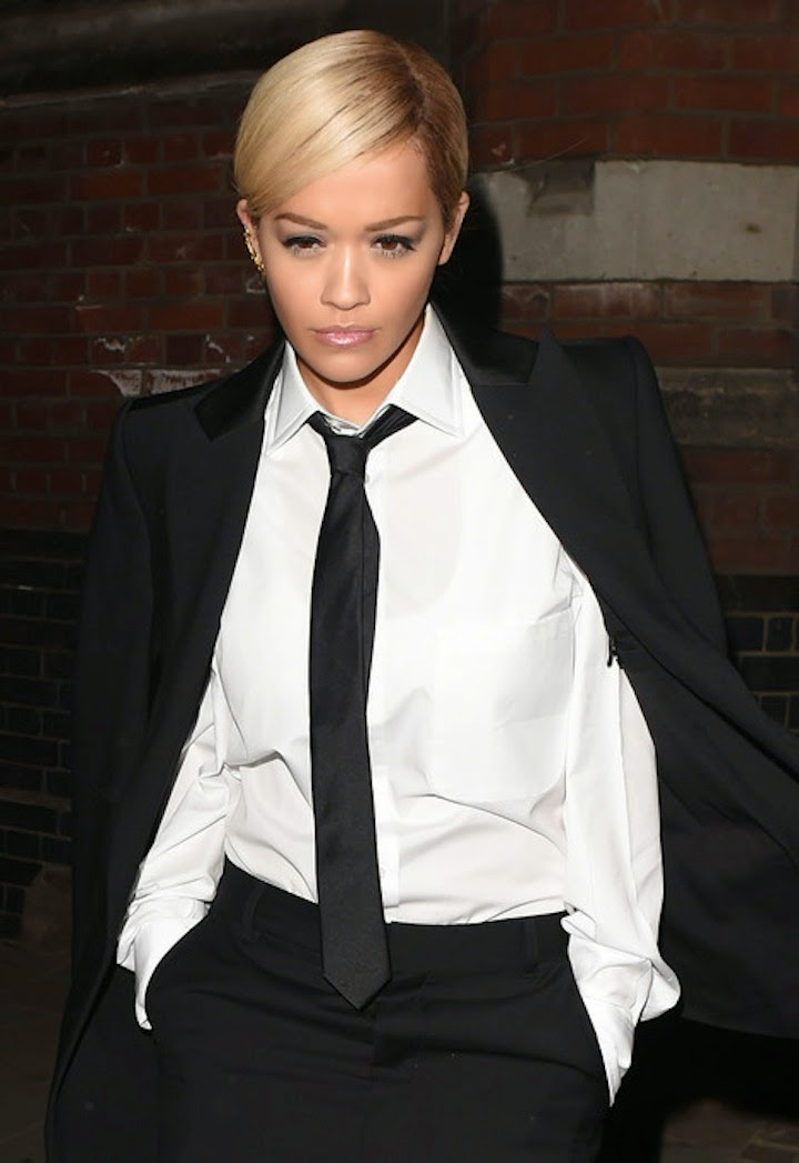 RITA ORA SUITED