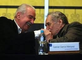 Dos gigantes de la Literatura colombiana.