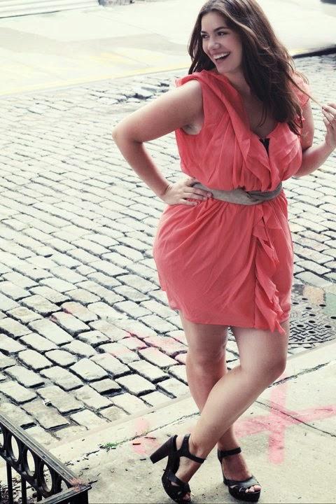übergewichtige Mädchen Kleiden