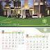 Tempkate Kalender Meja atau Duduk Siap Pakai (ME-07)