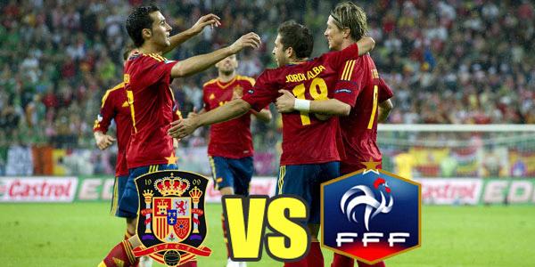 España enfrenta a Francia en Eliminatoria Brasil 2014