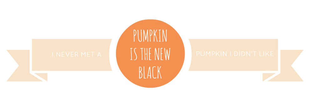 Pumpkin is the New Black