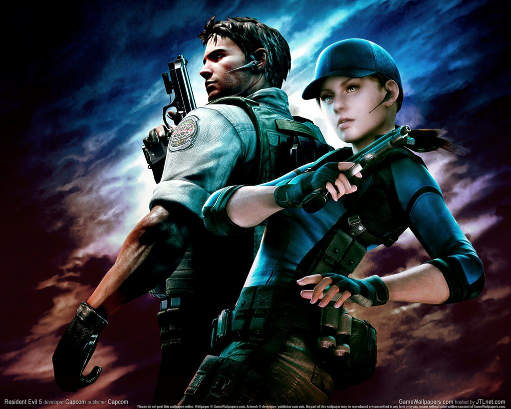Resident Evil HD & Widescreen Wallpaper 0.491879453427734