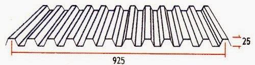 Atap Cd 925 - Jual Atap Zincalume Galvalume