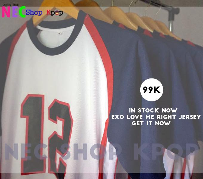 EXO LOVE ME RIGHT JERSEY