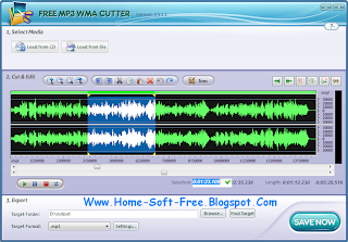 تحميل برنامج 2013 Download Free MP3 Cutter - لتقطيع الصوت Mp3