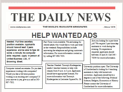 help wanted ad template | datariouruguay