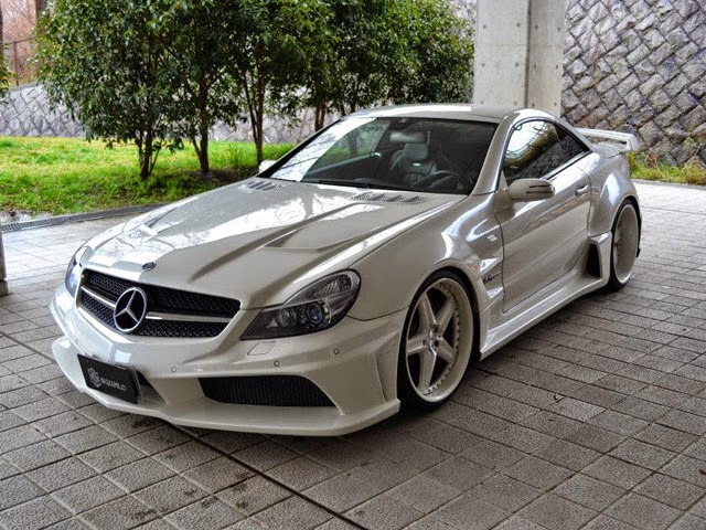 Mercedes benz r230 sl55 amg widebody by vitt performance for Mercedes benz sl55 amg