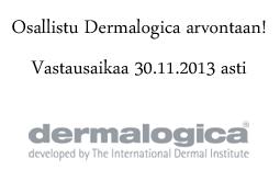 http://kahvimaito.blogspot.fi/2013/11/dermalogica-arvonta.html