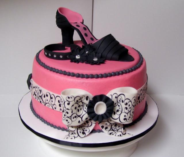 Birthday Cakes For You: Fashion cake