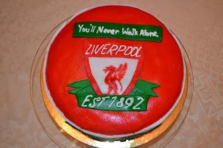 Barcelona Soccer Birthday Cake