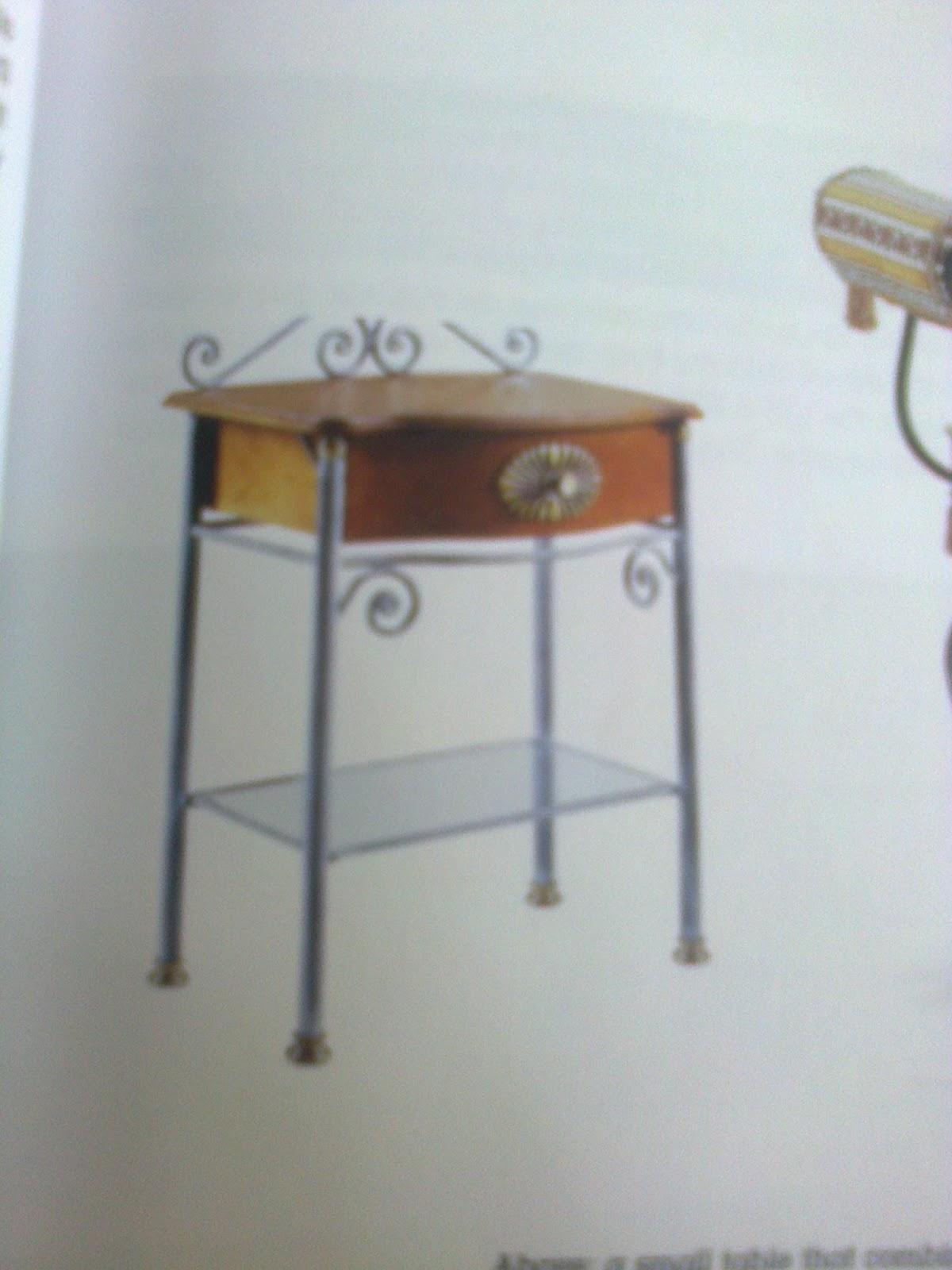Palacio muebles en hierro forjado for Muebles industriales madera y hierro